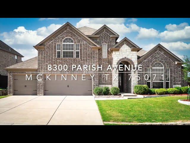 8300 Parish Avenue, McKinney, TX 75071 Video Walkthrough