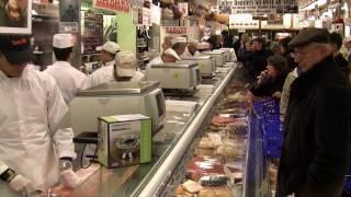 Zabar's Smoked Fish Counters - New Year's 2009