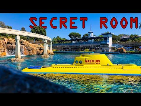 Disneyland's SECRET Observation ROOM - The Finding Nemo Submarine Voyage: Marine Observation Outpost