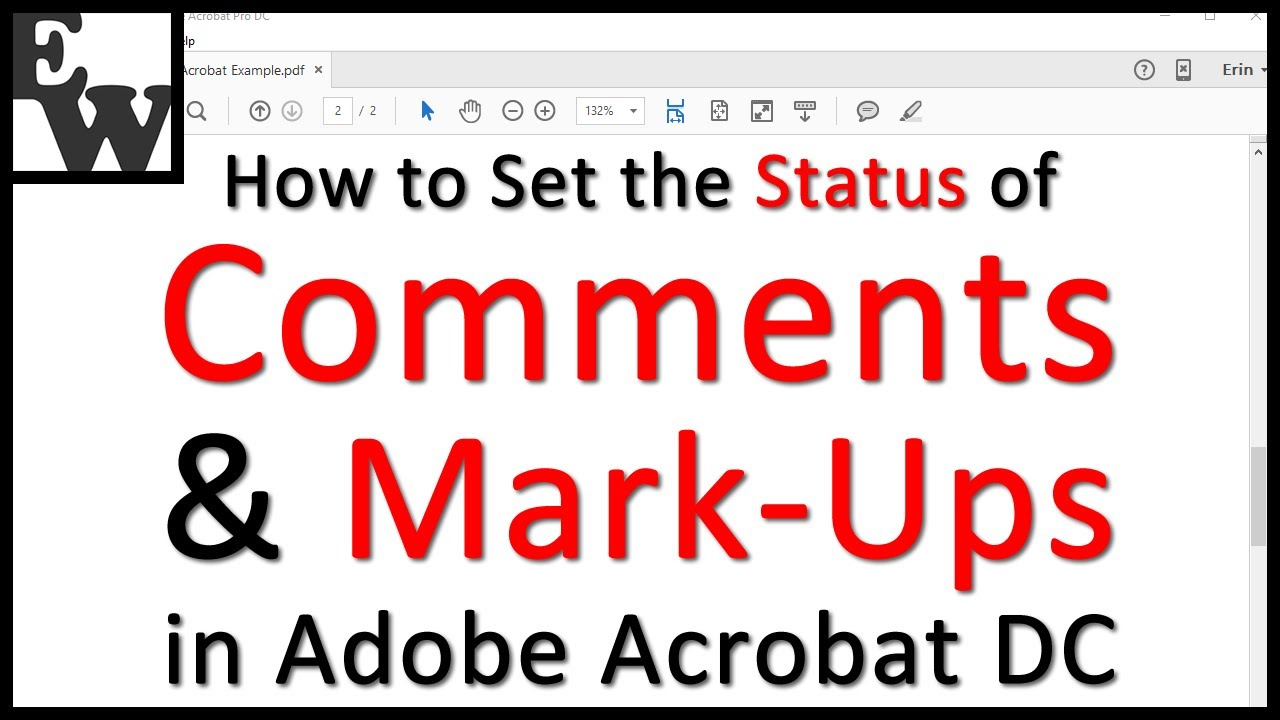 How to Use Adobe Acrobat DC's Comment and Mark-Up Tools