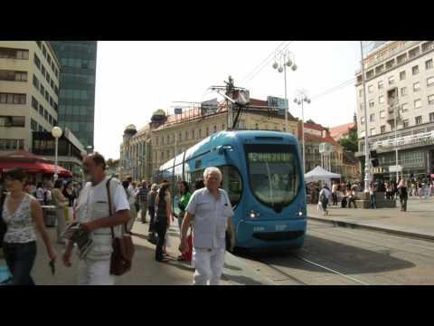 Zagreb Tram - Zagreb, Croatia