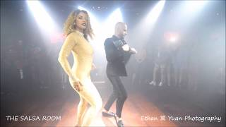 ATACA & LA ALEMANA Bachata Dance Performance @ THE SALSA ROOM