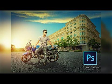 Photoshop Tutorial : High Dynamic Photo Manipulation Tutorial