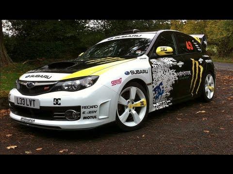 Ken Block Monster Energy Subaru wrx sti 330s - YouTube