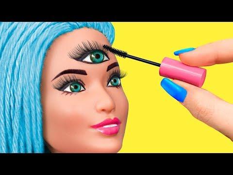 14 Barbie Beauty Salon Hacks And Crafts