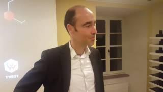 Thierry Kneissler (Twint AG) beim Wirtschaftsclub Zug - 16.3.2017