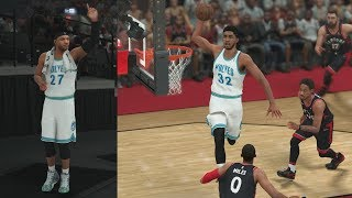 NBA 2K18 My Career - Towns Jumps Over! Sig Shoe Debut! PS4 Pro 4K Gameplay
