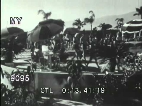 Stock Footage - 1940's Hollywood: Movie and Radio Studios and Landmarks