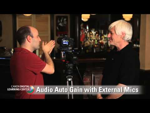 Canon EOS HD Video Tutorials: Single System Sound