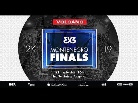 3X3 MONTENEGRO FINALS 2K19 21.09. PRVI DIO