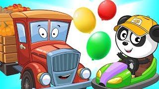 Мультики Про Цветные Машинки Для Детей с Биби - Учим Цифры и Грузовик - Мультик Для Малышей