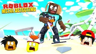 ALL THAT LOOT, KEEP DIGGING - Roblox 💎 Metal Detecting Simulator!