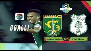 Download Video Gol Irfan Jaya - Persebaya Surabaya (1) vs (0) PSMS Medan | Go-Jek Liga 1 Bersama Bukalapak MP3 3GP MP4