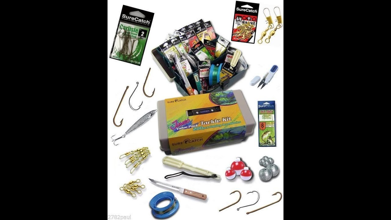 Basic fishing supplies youtube for Fishing equipment stores