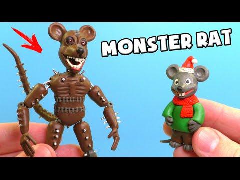 Лепим АНИМАТРОНИКА МОНСТЕР РЭТ из игры FNAC | Monster Rat