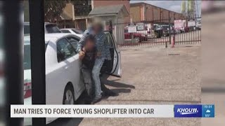 yOUNG SHOPLIFTER