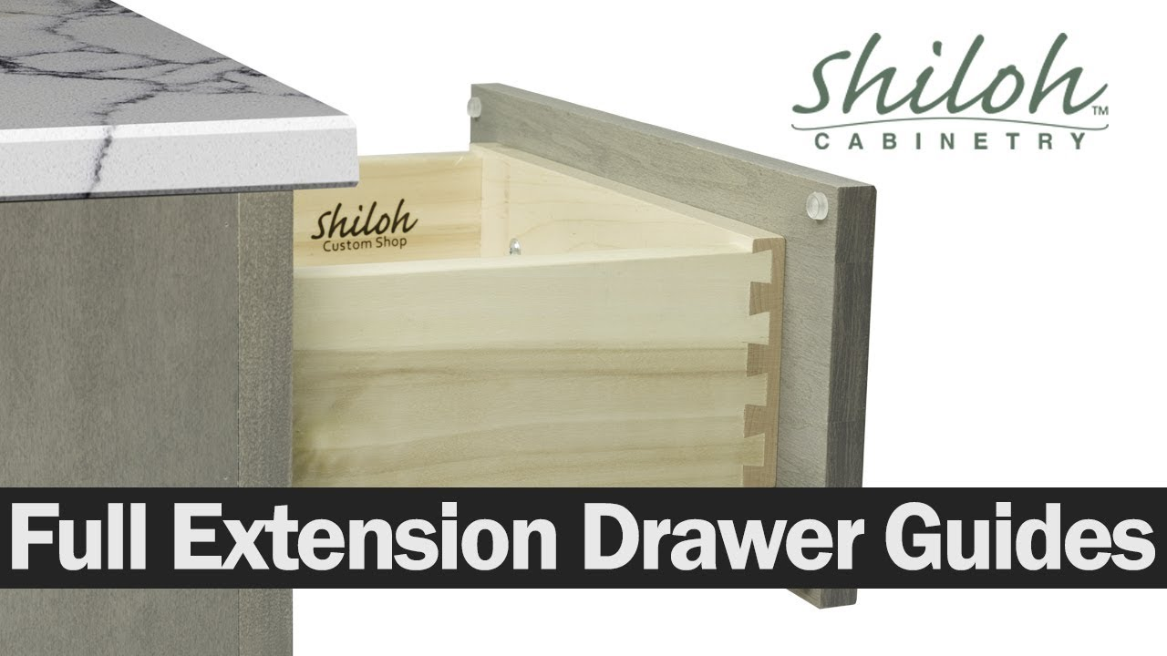 How To Adjust Your Cabinet Drawers On Full Extension Drawer Guides  Shiloh  Cabinetry