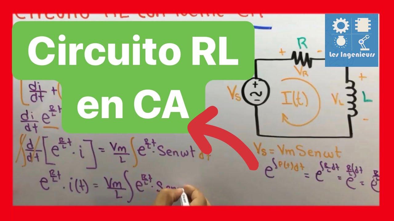 Circuito Rl : Circuito rl con fuente ca circuitos rl youtube