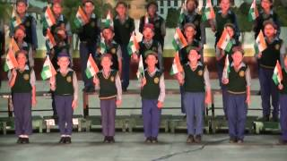 UTCV Kids Indian Patriotic Song on Independence Day and Mr. Helmut Kutin