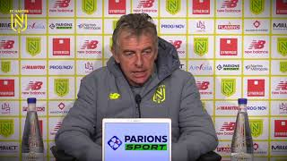 VIDEO: Christian Gourcuff avant FCN-TFC