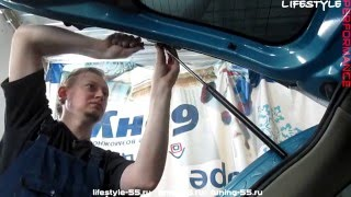 LifeStyle Performance - Замена амортизаторов багажника Nissan March K12