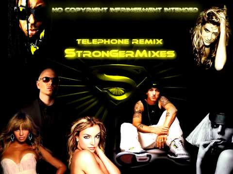 Telephone Remix - Lady Gaga Ft Beyoncé, Eminem, Ke$ha, Pitbull, Britney & More(mash-up)