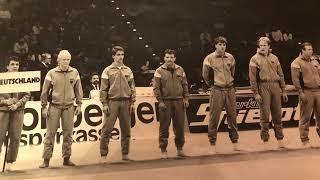 Judo Länderkampf Deutschland - Japan 1986: ausverkaufte Grugahalle in Essen!