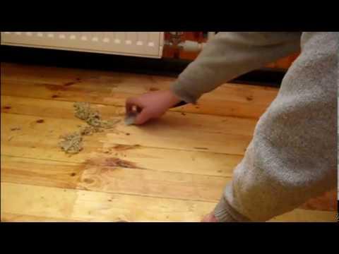 Как снять лак с деревянного пола