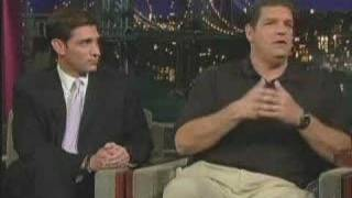 Mike & Mike on the Late Show