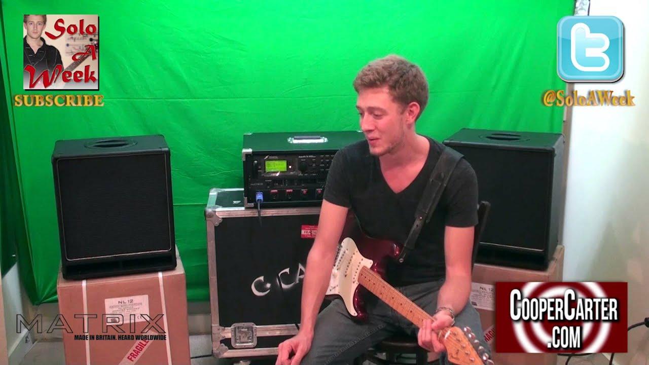 Matrix Amplifiers NL12 1x12 Cabinet Unboxing Review