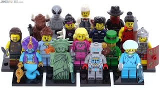 LEGO Series 6 Collectible Minifigs from 2012 reviewed!