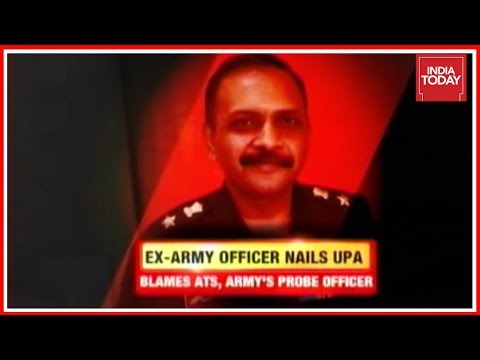 Ex Army Officer's Explosive Revelations On Malegaon Blast Case Probe
