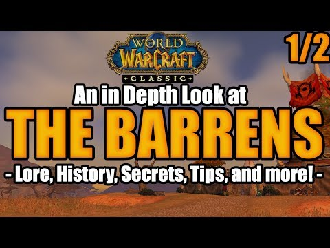 An in Depth Look at THE BARRENS! (Lore, History, Tips, Secrets, and More!)