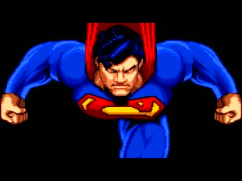 The Death and Return of Superman (SNES) Playthrough - NintendoComplete