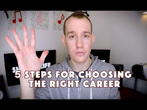 5 Ultimate Steps For Choosing The Right Career
