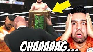 WWE DEN KOVULDUK ! KEMER VE ÇANTAMIZ ALINDI ! WWE2K18 ! #12