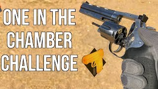 one in the chamber challenge asg dan wesson 715 revolver