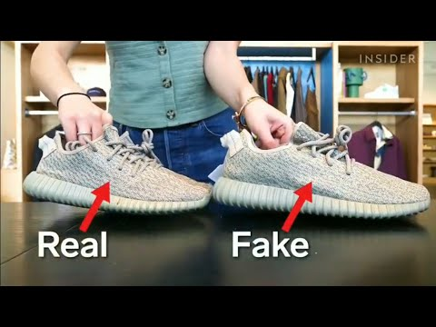 How To Spot Fake Sneakers April 2019