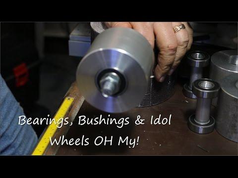 DIY Belt Sander Build Part 2 - making the Idol Wheels