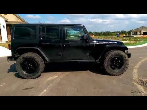 how to put 37 39 s with no lift on jeep wrangler jk jku hummer edition youtube. Black Bedroom Furniture Sets. Home Design Ideas