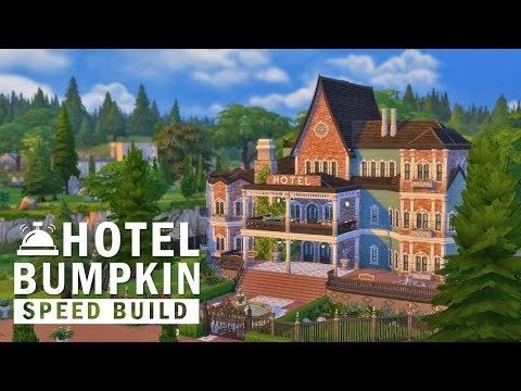 The Sims 4 | Speed Build | Hotel Bumpkin