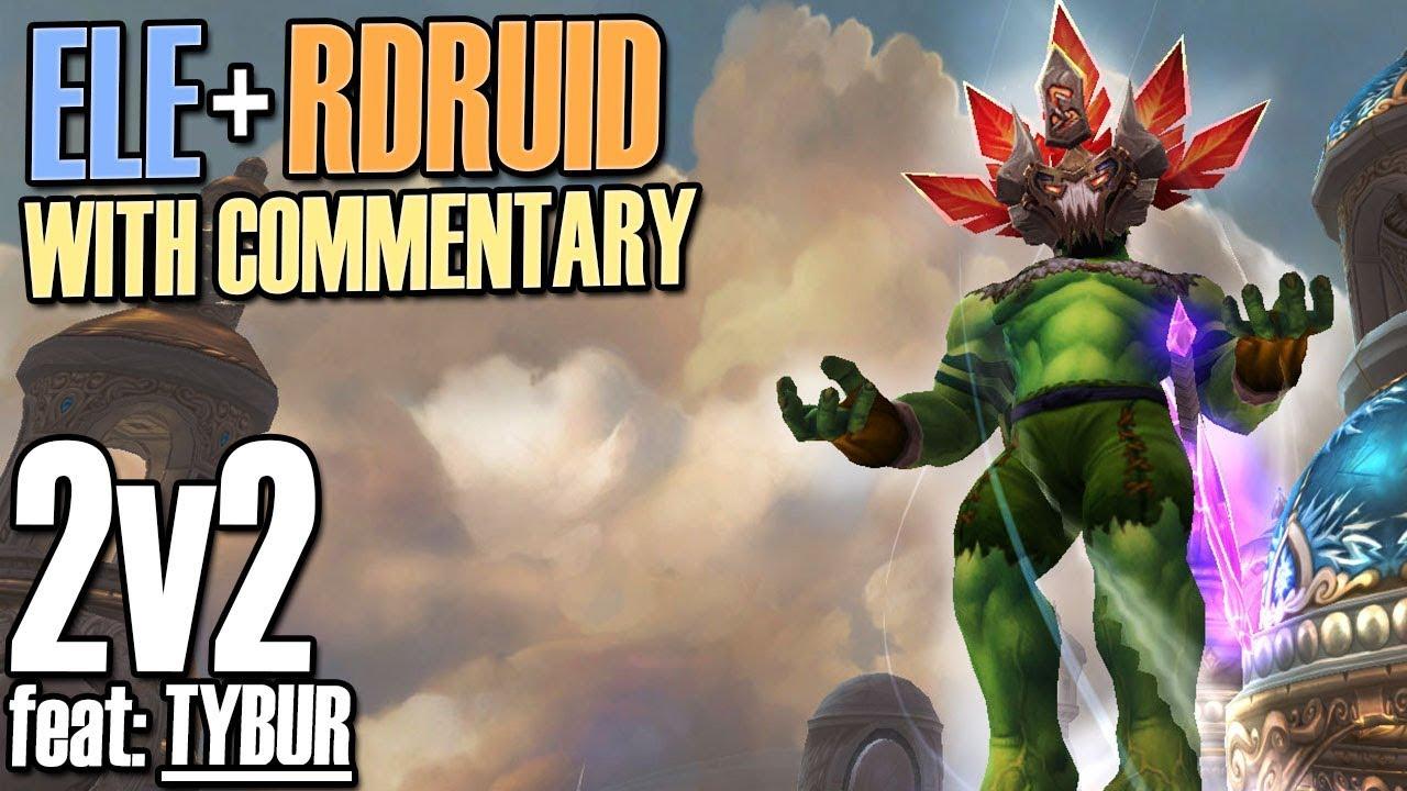 🤠8 1 5 Elemental 2v2 Explained feat: Tybur - Elemental Shaman PvP [BFA]