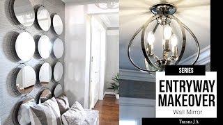 DIY Entryway Makeover - Wall Mirror | Episode 3