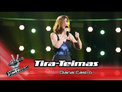 Diana Castro - 'Ouvi Dizer'   Tira-Teimas   The Voice Portugal