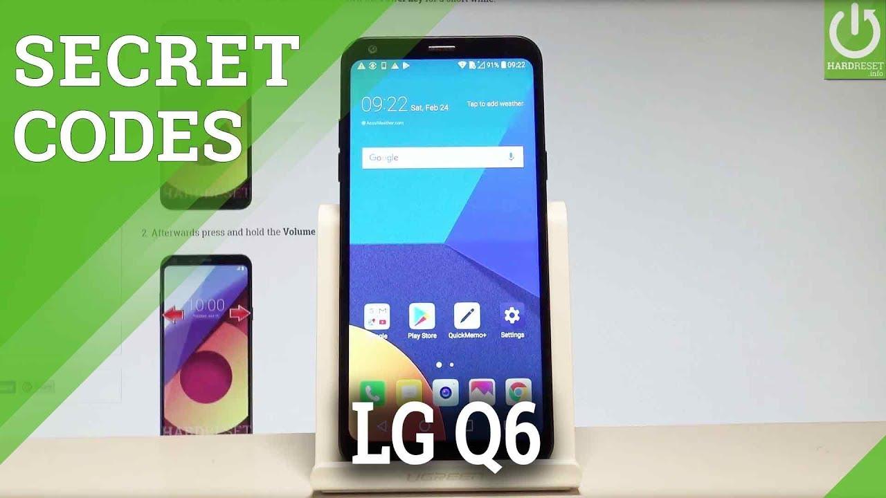 Secret Codes LG Q6 - Tricks / Hidden Mode / Secret Options