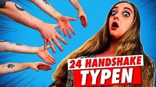 24 Handshake Typen!