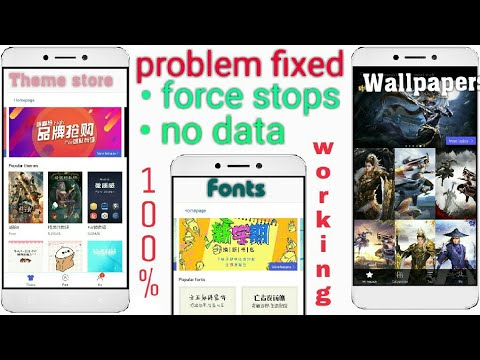 Leeco Theme Store Problem Solved | Force Stops | No Data Sollution | 100% Working