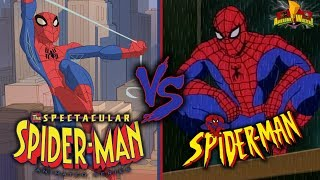 Spectacular Spider-Man vs. Spider-Man The Animated Series