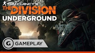 The End is NY Mission Gameplay - The Division Underground DLC