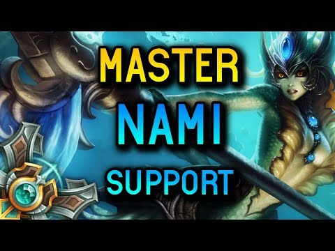 MASTER SUPPORT NAMI SEASON 8 - League of Legends